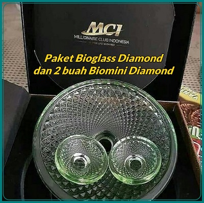 paket bioglass diamond dan biomini diamond