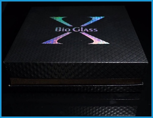 box cover kemasan bioglass x