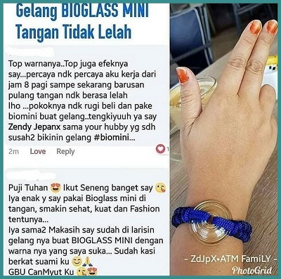 gelang bioglass mini