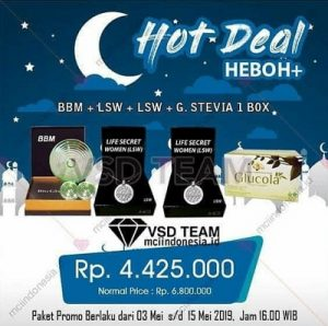 Hot Deal Heboh+ BBM LSW LSW Glucola
